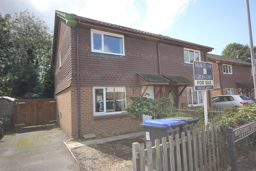 3 Bedrooms Semi Detached House for sale in MONTGOMERY GARDENS, SALISBURY, WILTSHIRE, SP2 7UG