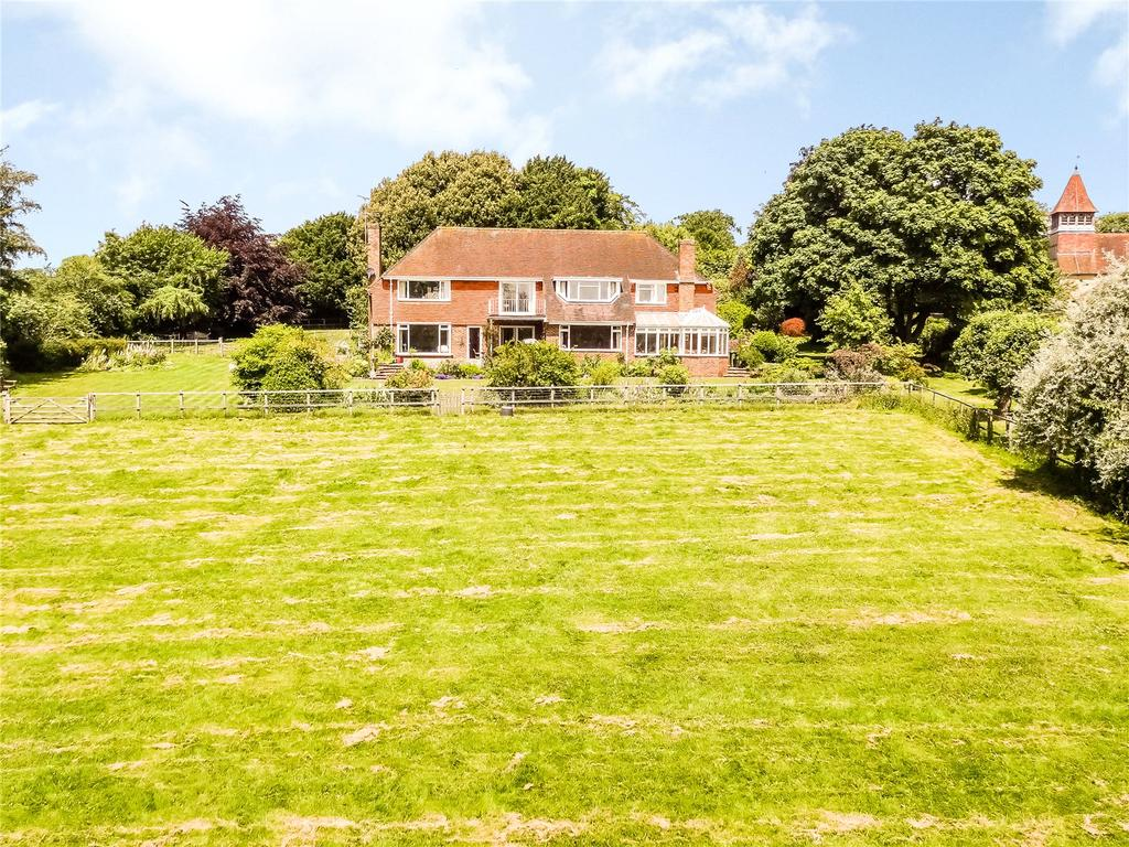 6 Bedrooms Detached House for sale in Church Lane, Martyr Worthy, Winchester, Hampshire