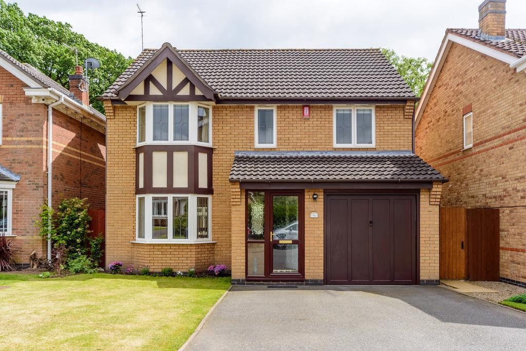 4 Bedrooms Detached House for sale in Greenfield Avenue, Balsall Common