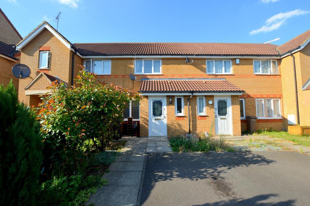 2 Bedrooms Terraced House for sale in Dunraven Avenue, Luton, Bedfordshire, LU1 1TP