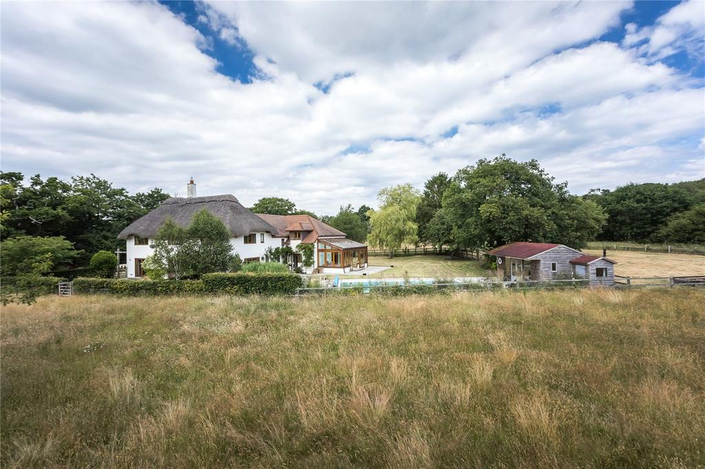 5 Bedrooms Equestrian Facility Character Property for sale in Hangersley, Ringwood, Hampshire, BH24
