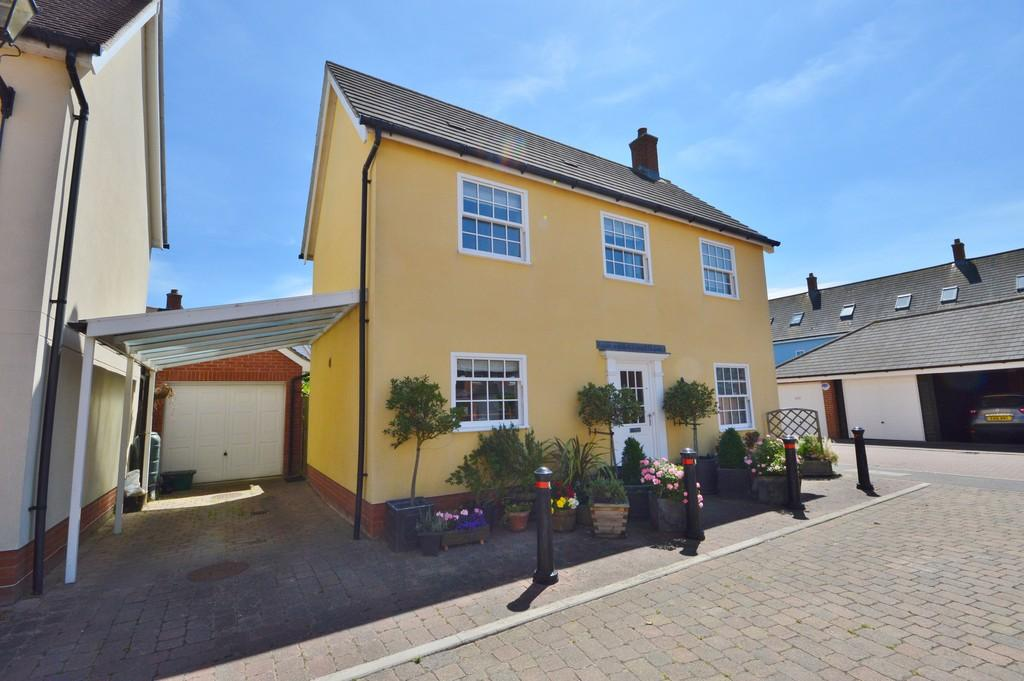 4 Bedrooms Detached House for sale in Carlton Mews, Wivenhoe