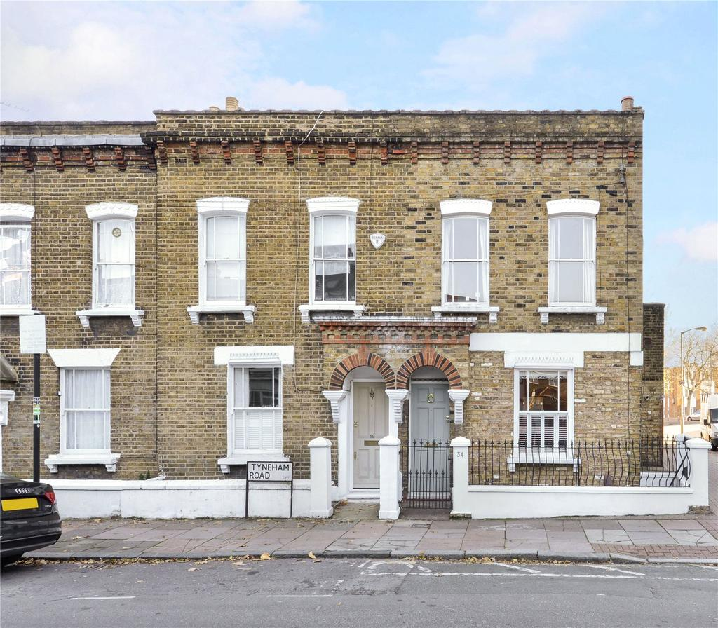 3 Bedrooms End Of Terrace House for sale in Tyneham Road, Battersea, London, SW11