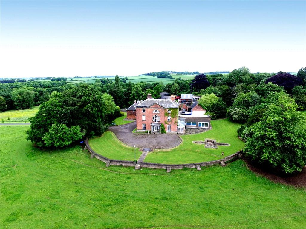 Equestrian Facility Character Property for sale in Lot 1 - Draycott House, Hopwell Road, Draycott, Derby, DE72