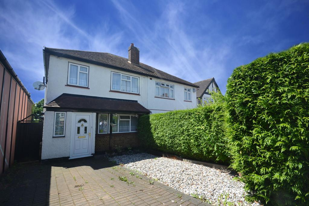 3 Bedrooms Semi Detached House for sale in Hillfoot Road, Collier Row