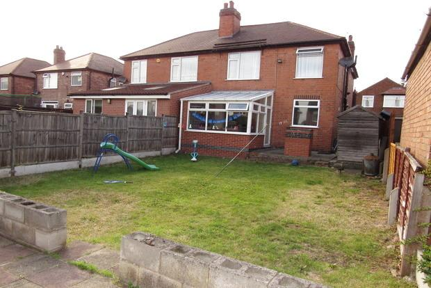3 Bedrooms Semi Detached House for sale in Ingram Road, Bulwell, NG6