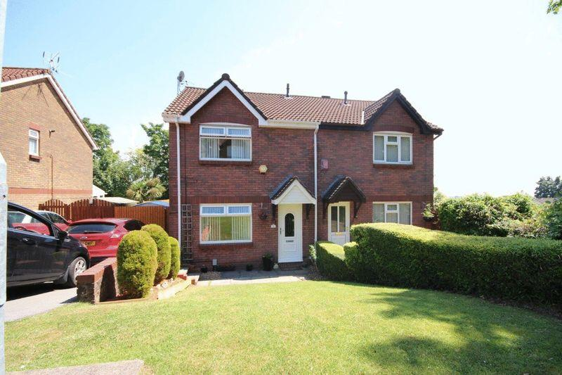 3 Bedrooms Semi Detached House for sale in Duncan Close, St Mellons