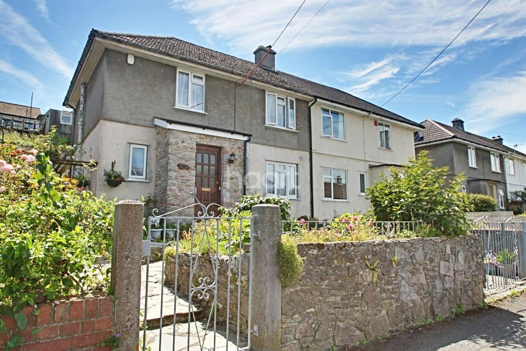 3 Bedrooms Semi Detached House for sale in Pomphlett Close, Plymstock