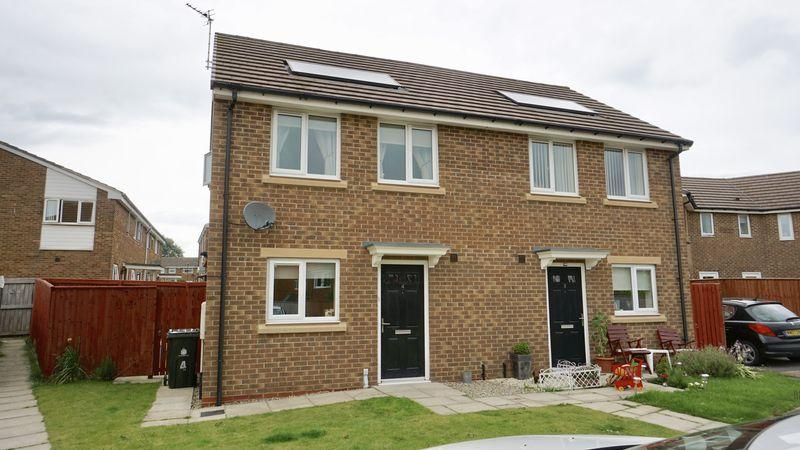 2 Bedrooms Semi Detached House for sale in Caleb Drive, Wallsend
