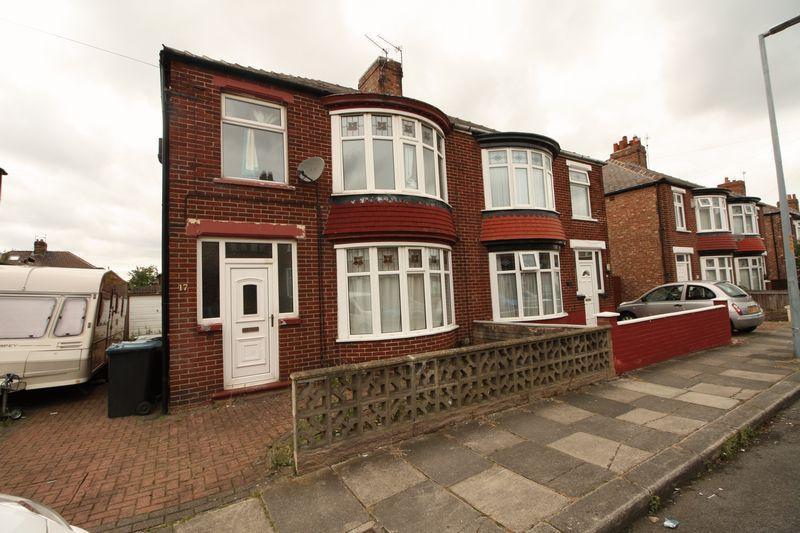 3 Bedrooms Semi Detached House for sale in Castleton Avenue, Middlesbrough