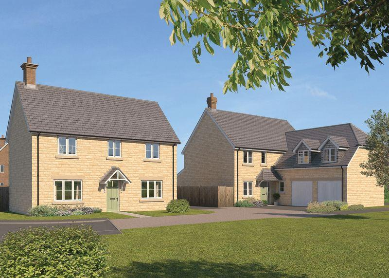 4 Bedrooms Detached House for sale in Plot 34, The Wroxton, Monks Walk, Marcham