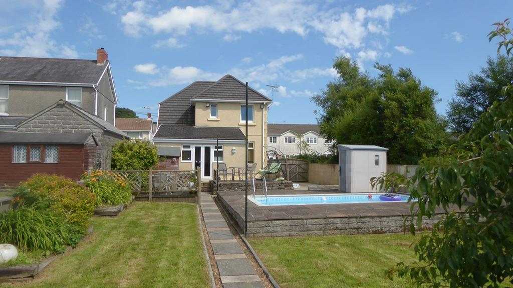 3 Bedrooms Detached House for sale in Woodville Street, Pontarddulais, Swansea, SA4