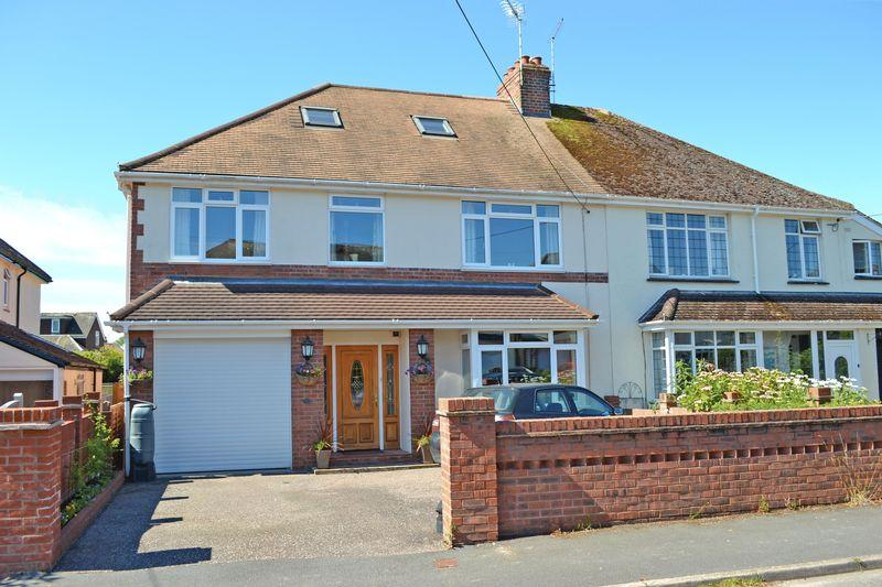 4 Bedrooms Semi Detached House for sale in Primley Road, Sidmouth
