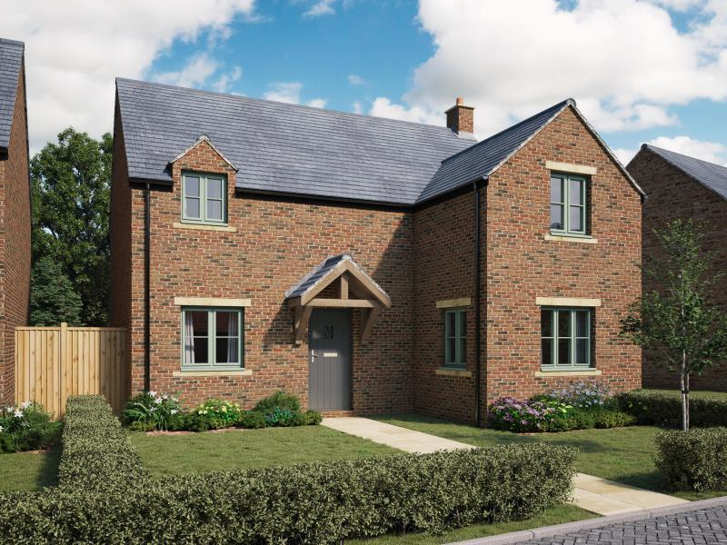 4 Bedrooms Detached House for sale in Plot 4, Noral Way, Banbury, Oxfordshire