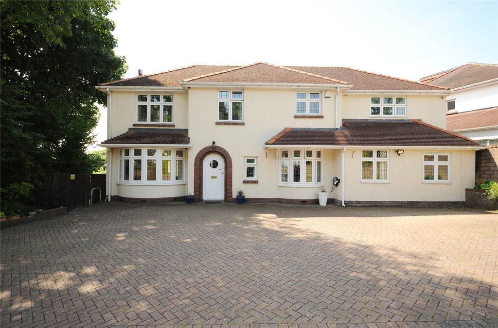 4 Bedrooms Detached House for sale in Hollybush Road, Cyncoed, Cardiff, CF23