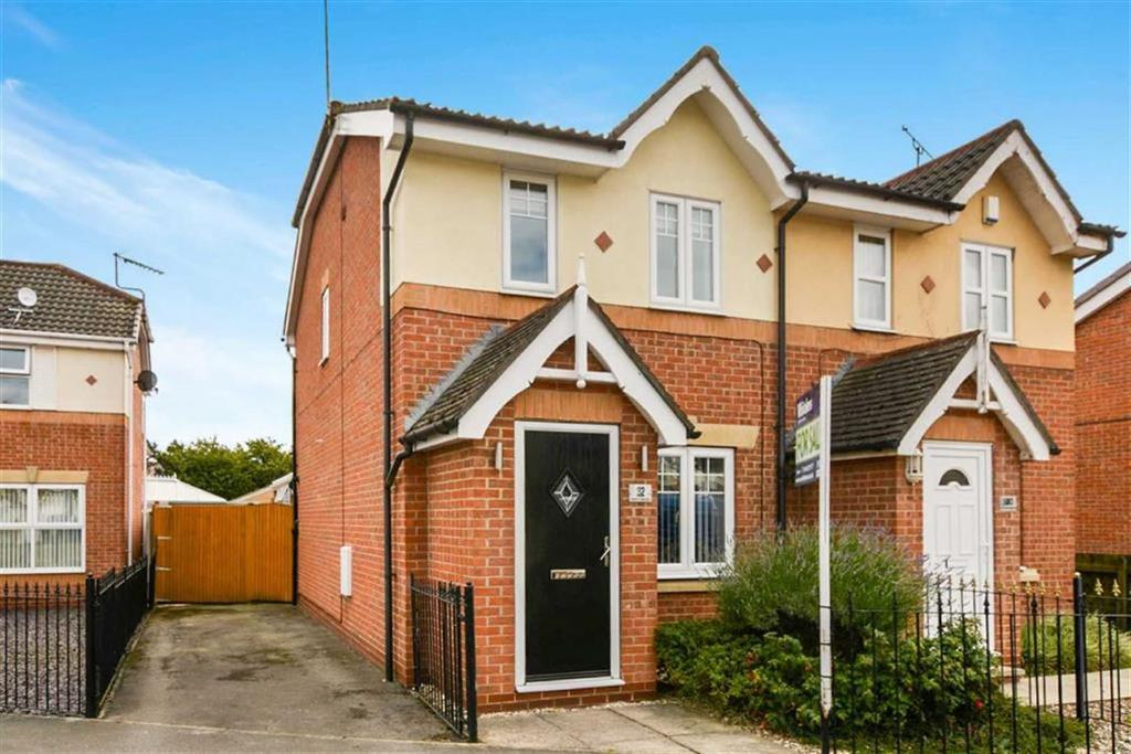 2 Bedrooms Semi Detached House for sale in Western Gailes Way, Hull, HU8