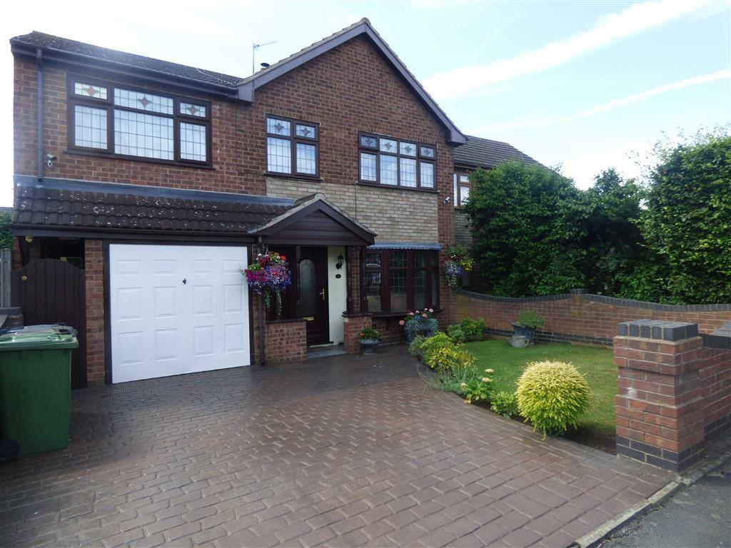 4 Bedrooms Semi Detached House for sale in Burbury Close, Bedworth