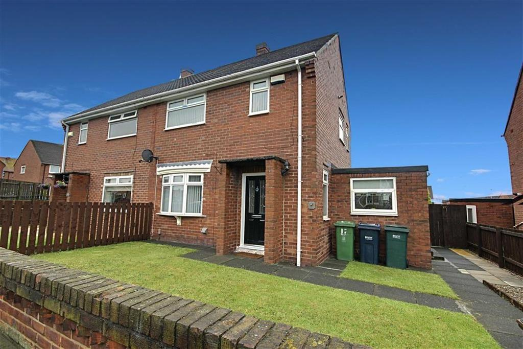 2 Bedrooms Semi Detached House for sale in Thorne Avenue, Wardley, Gateshead