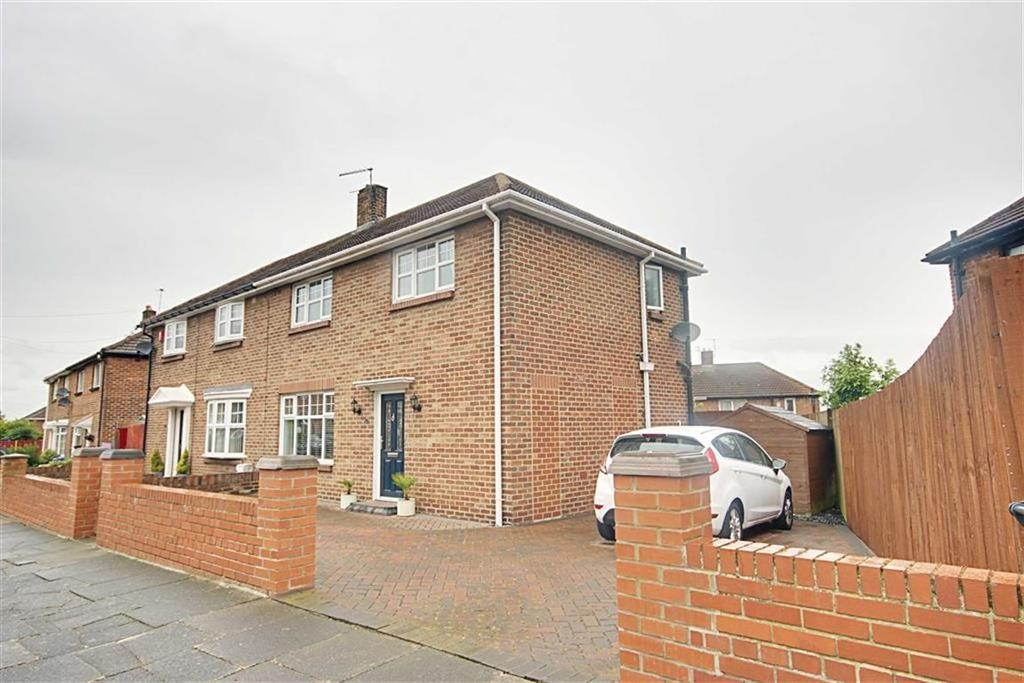 3 Bedrooms Semi Detached House for sale in Hindmarch Drive, West Boldon, Tyne And Wear
