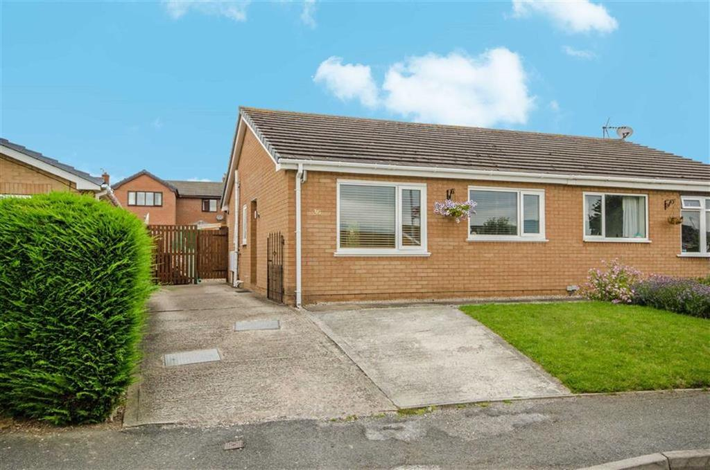 2 Bedrooms Semi Detached Bungalow for sale in Llys Alafowlia, Denbigh