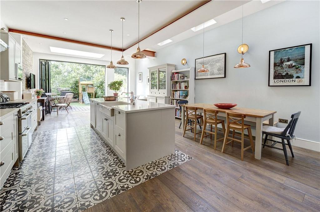 4 Bedrooms Terraced House for sale in Bathurst Gardens, Kensal Rise, London, NW10