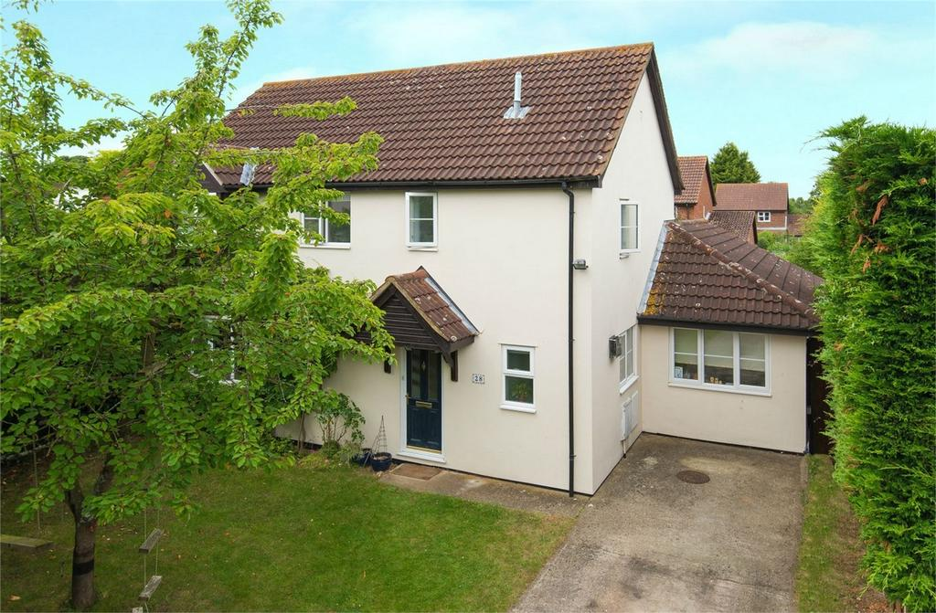 4 Bedrooms Detached House for sale in Parker Close, Letchworth, Herts