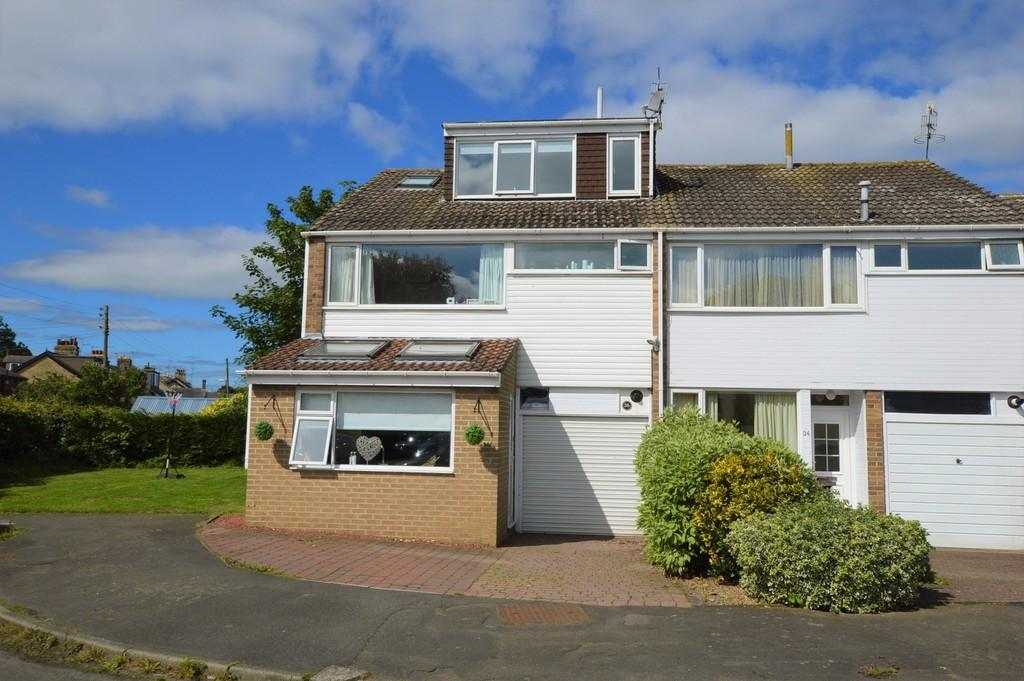 4 Bedrooms End Of Terrace House for sale in Wheatfield Close, Ovingham
