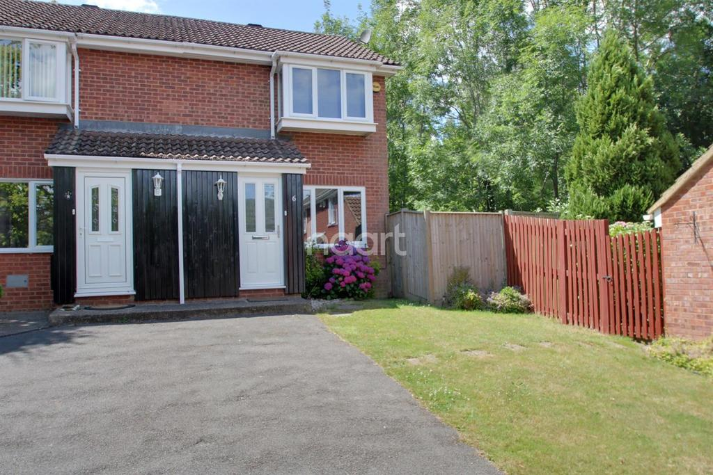 2 Bedrooms Semi Detached House for sale in Olivine Close, Walderslade Woods