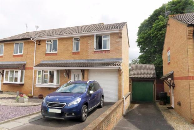 4 Bedrooms Semi Detached House for sale in Medway Close, Taunton TA1