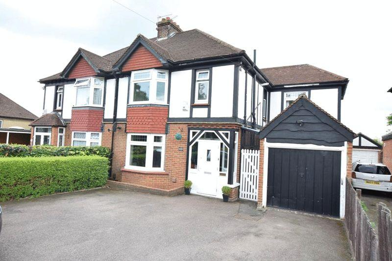 4 Bedrooms Semi Detached House for sale in Chatham Road, Maidstone