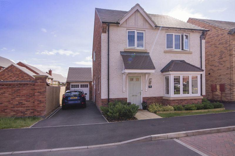 4 Bedrooms Detached House for sale in RICHARDSON WAY, LANGLEY COUNTRY PARK, DERBY