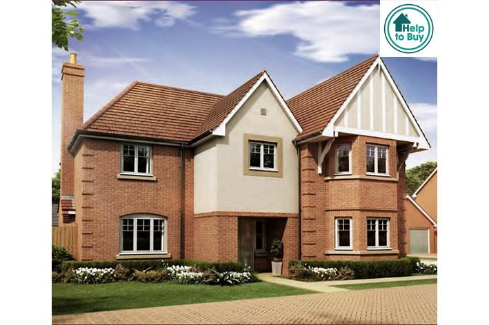 5 Bedrooms Detached House for sale in The Albury at Spring Meadows, Pershore