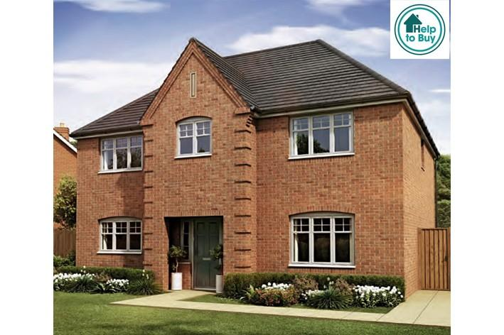 4 Bedrooms Detached House for sale in The Whitwick at Spring Meadows, Stonebow Road, Pershore