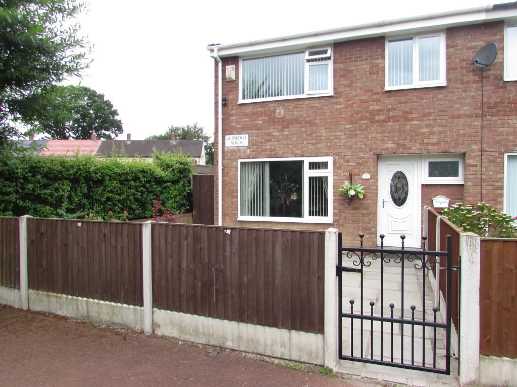 3 Bedrooms End Of Terrace House for sale in Burnsall Walk, Woodhouse Park, Manchester