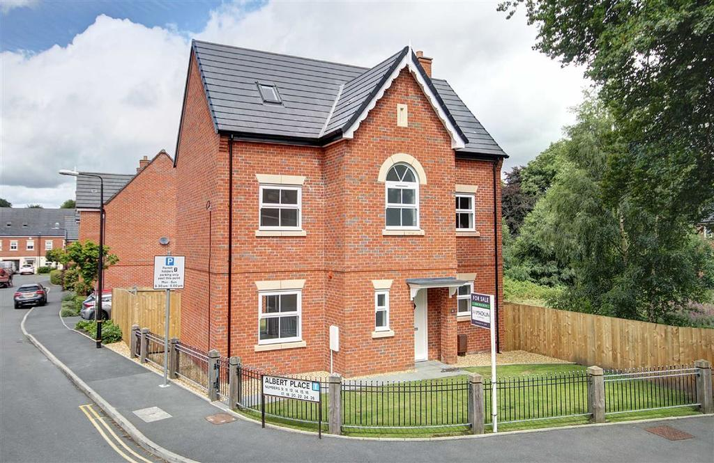 5 Bedrooms Detached House for sale in Albert Place, Altrincham, Cheshire