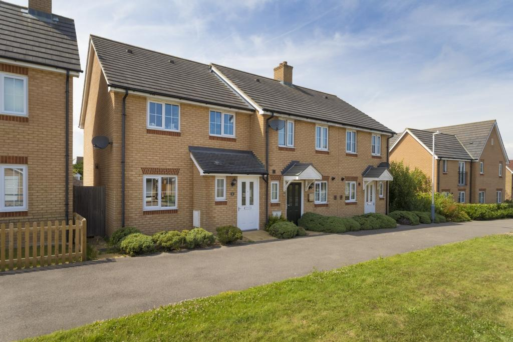 3 Bedrooms End Of Terrace House for sale in Campbell Walk, Hawkinge, CT18