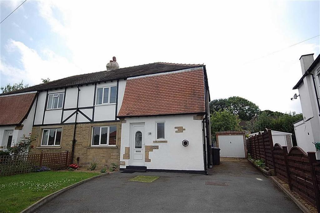3 Bedrooms Semi Detached House for sale in Broadgate Crescent, Almondbury, Huddersfield, HD5