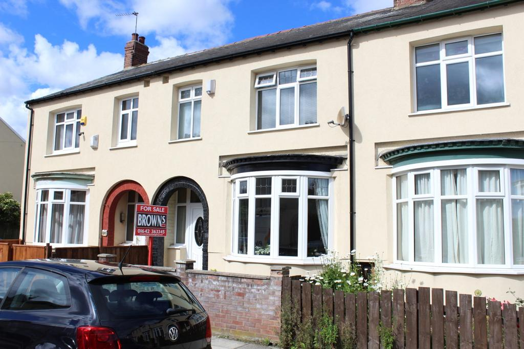 3 Bedrooms Terraced House for sale in Osborne Road, Stockton-On-Tees, TS18