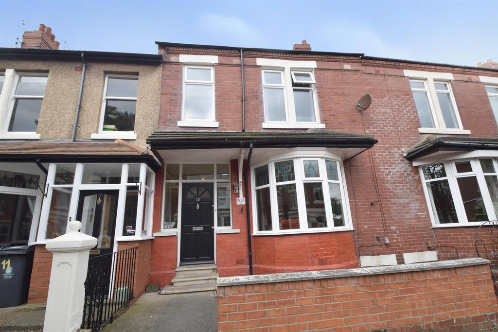 3 Bedrooms Terraced House for sale in Ventnor Gardens, Whitley Bay
