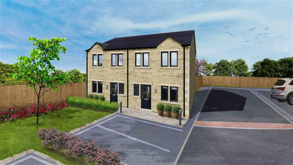 3 Bedrooms Semi Detached House for sale in Field Head, Shepley, Huddersfield, HD8
