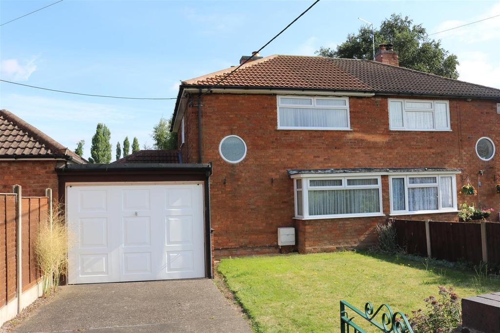 2 Bedrooms Semi Detached House for sale in Brookside Road, Mile Oak, Tamworth