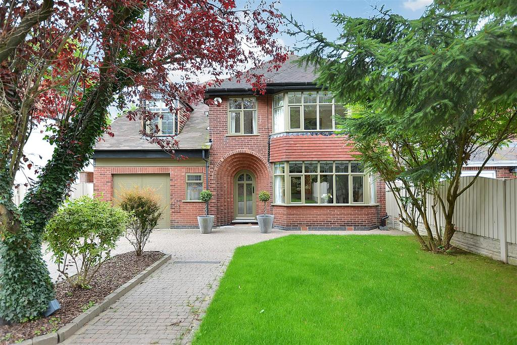 4 Bedrooms Detached House for sale in Sherwood House, Nottingham Road, Mansfield