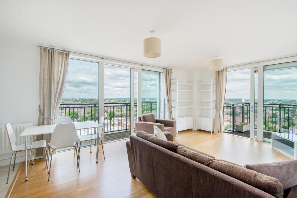 1 Bedroom Penthouse Flat for sale in Dalston Square, Hackney, London E8