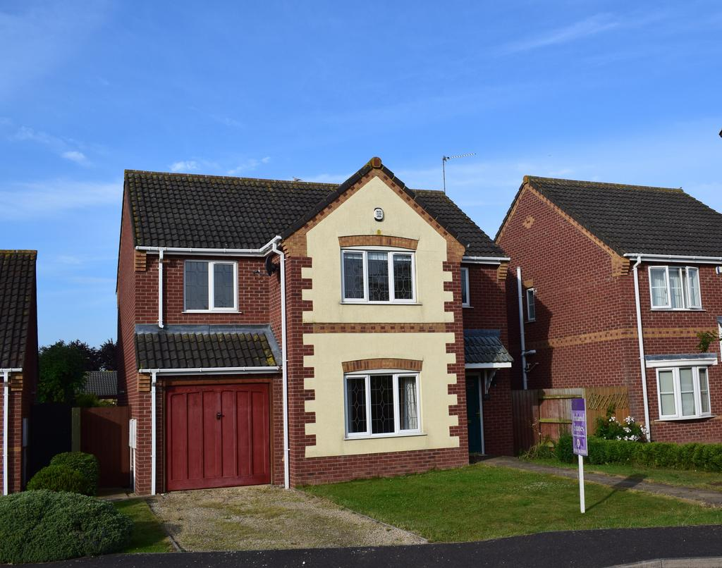 4 Bedrooms Detached House for sale in John Swains Way, Long Sutton, Spalding, Lincolnshire, PE12 9DQ