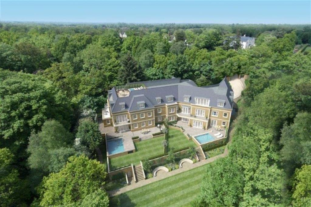 3 Bedrooms Apartment Flat for sale in Camlet Way, Hadley Wood, Hertfordshire
