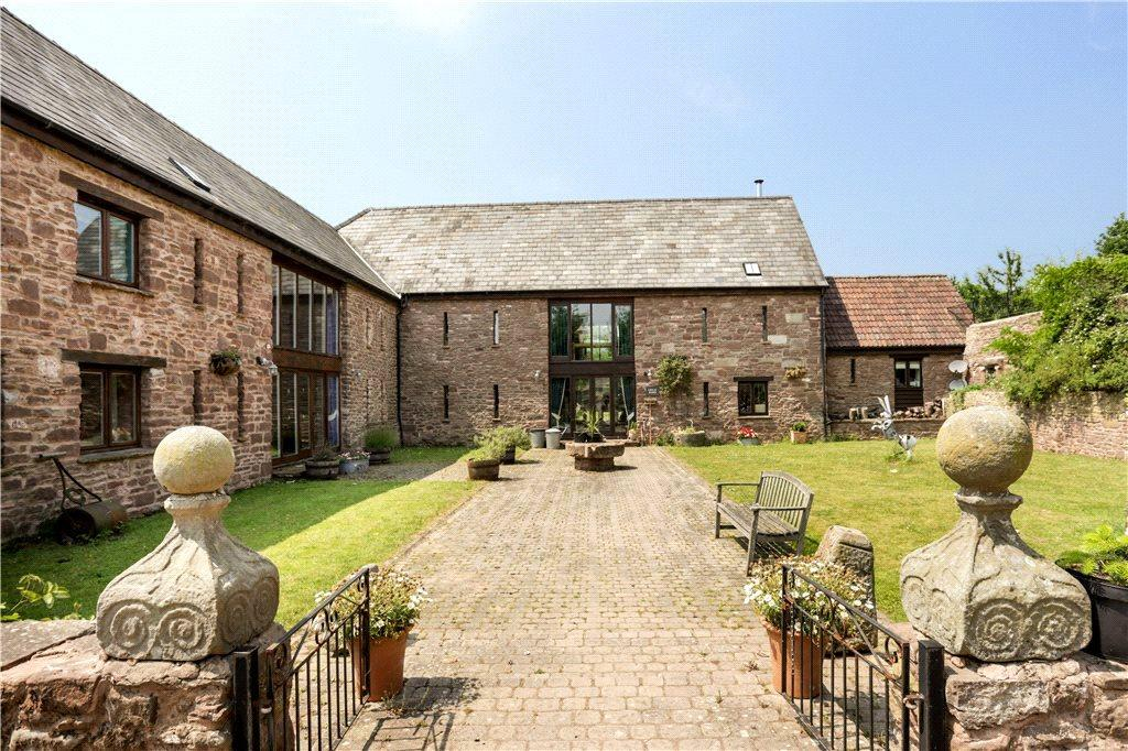 6 Bedrooms Unique Property for sale in Trebandy Farm, Marstow, Ross-on-Wye, Herefordshire, HR9