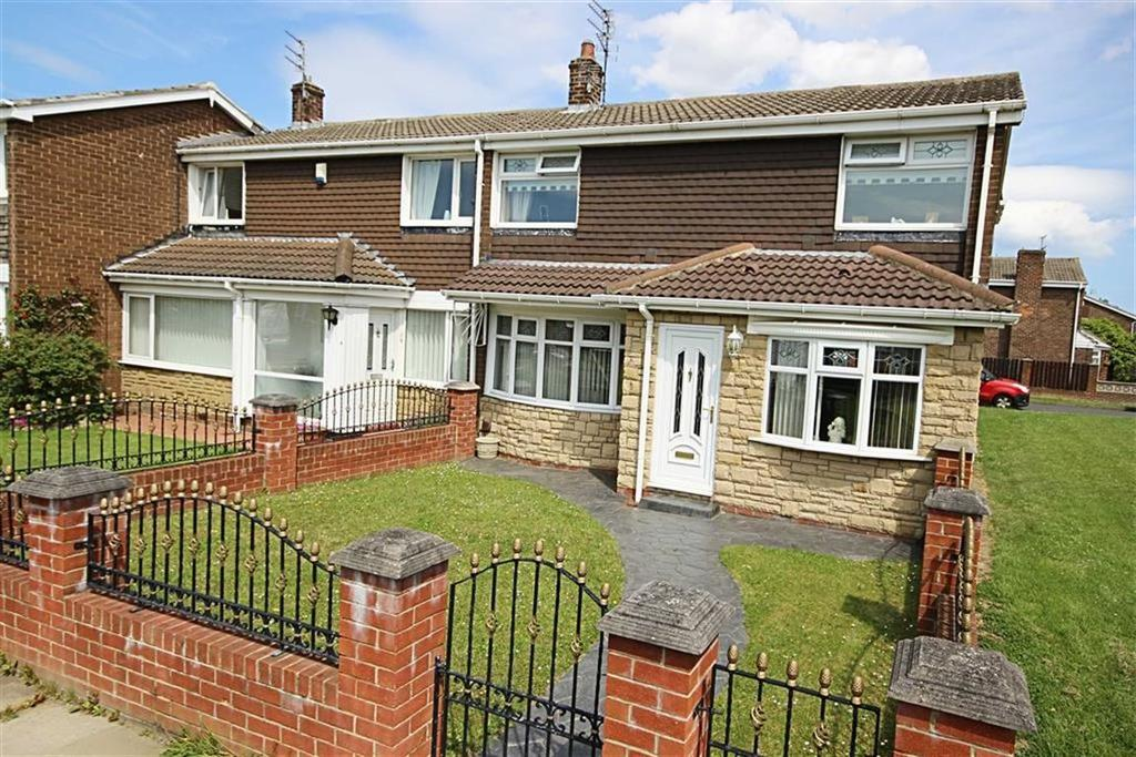 4 Bedrooms End Of Terrace House for sale in Coventry Way, Fellgate, Tyne And Wear