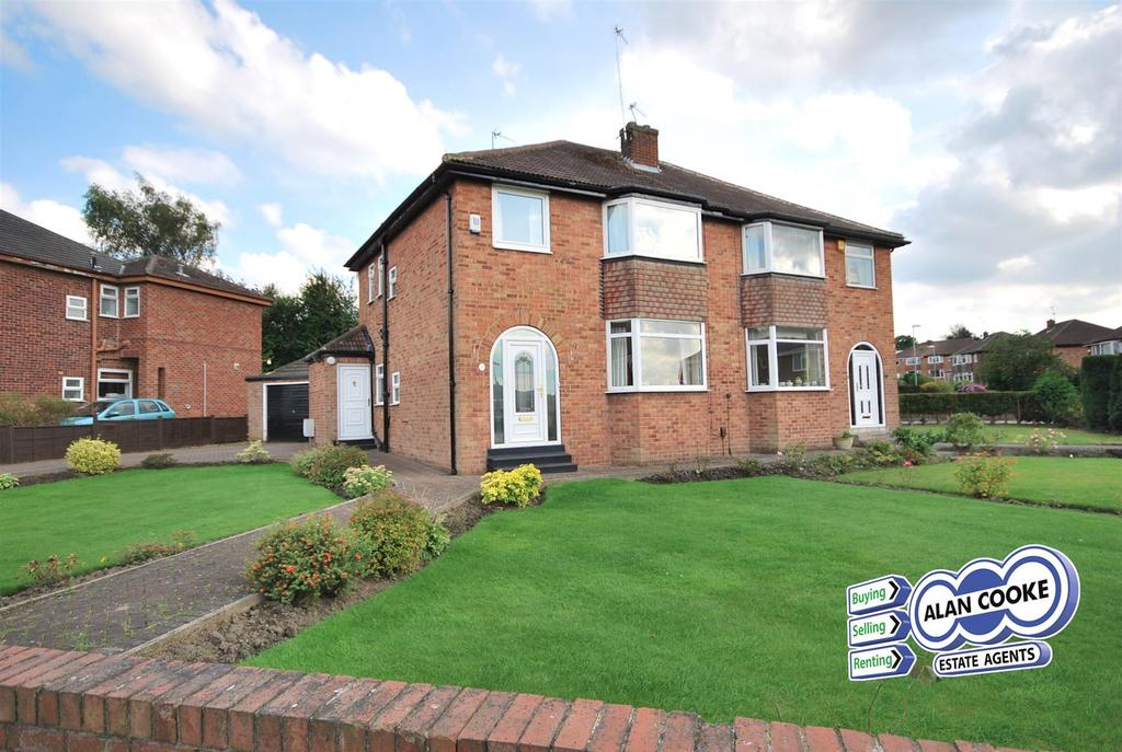 3 Bedrooms Semi Detached House for sale in Primley Park View, Alwoodley, Leeds
