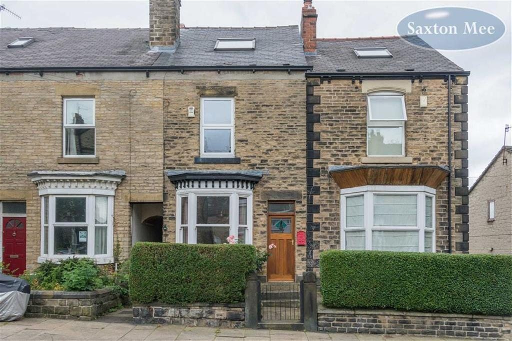 3 Bedrooms Terraced House for sale in Brighton Terrace Road, Crookes, Sheffield, S10