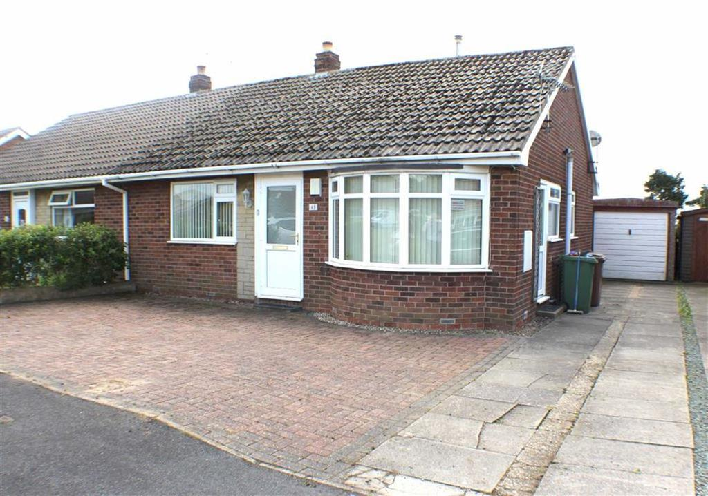 2 Bedrooms Semi Detached Bungalow for sale in Hollycroft, Barmston, East Yorkshire